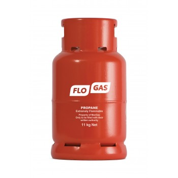 Flogas 11kg Commercial Propane Refill Bottled Gas
