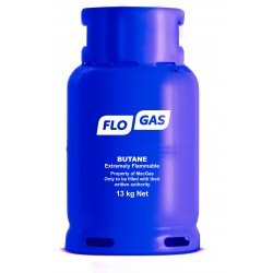 Flogas 13kg Butane Refill 20mm Bottled Gas
