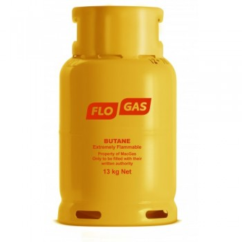 Flogas 13kg Butane Refill 21mm Bottled Gas