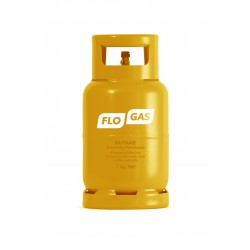 Flogas 7kg Butane Refill 21mm Bottled Gas
